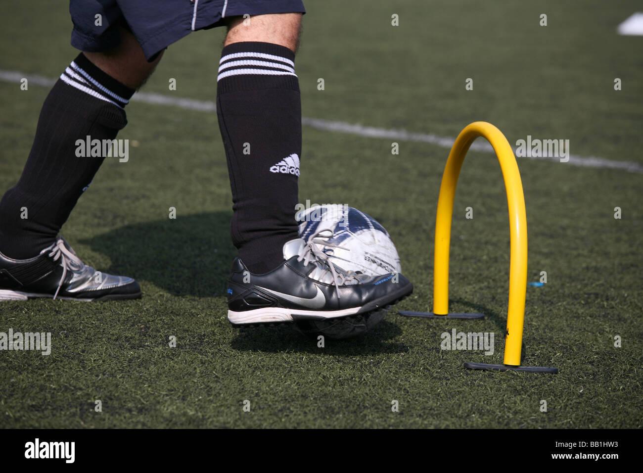 'Parco' football soccer football 'Sunday calcio' Immagini Stock