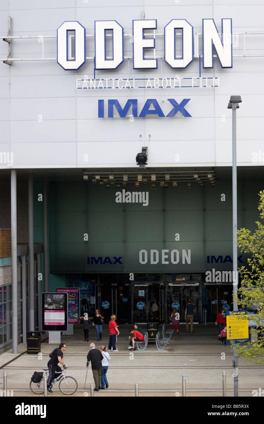 Odeon cinema Imax Greenwich, London, Regno Unito Immagini Stock