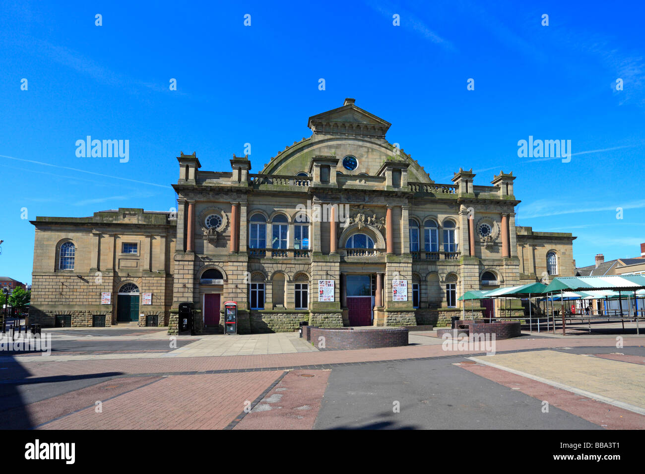 Il Corn Exchange, Doncaster, South Yorkshire, Inghilterra, Regno Unito. Foto Stock