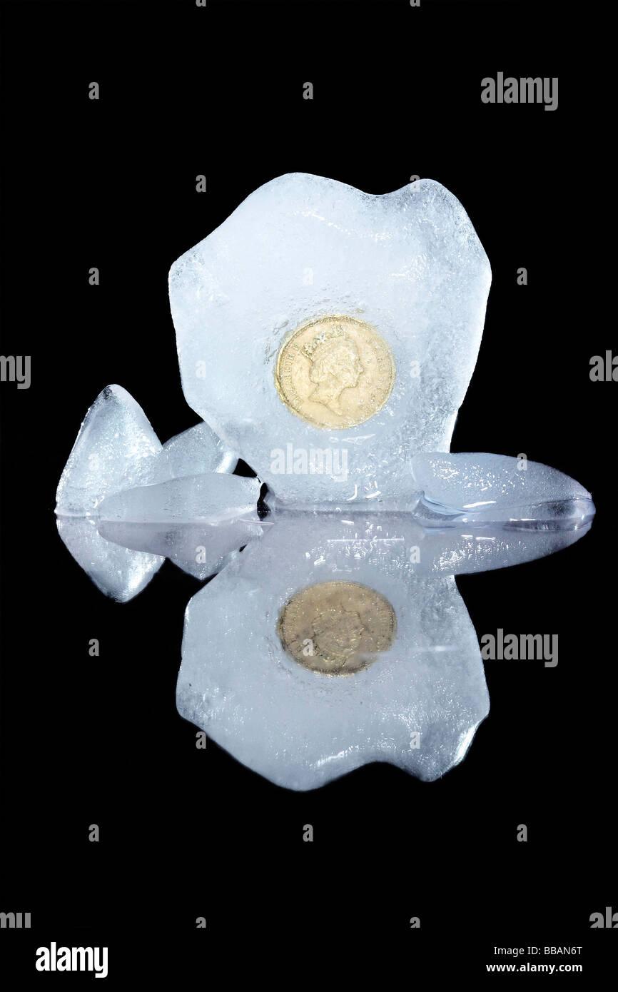 congelati sterling Immagini Stock