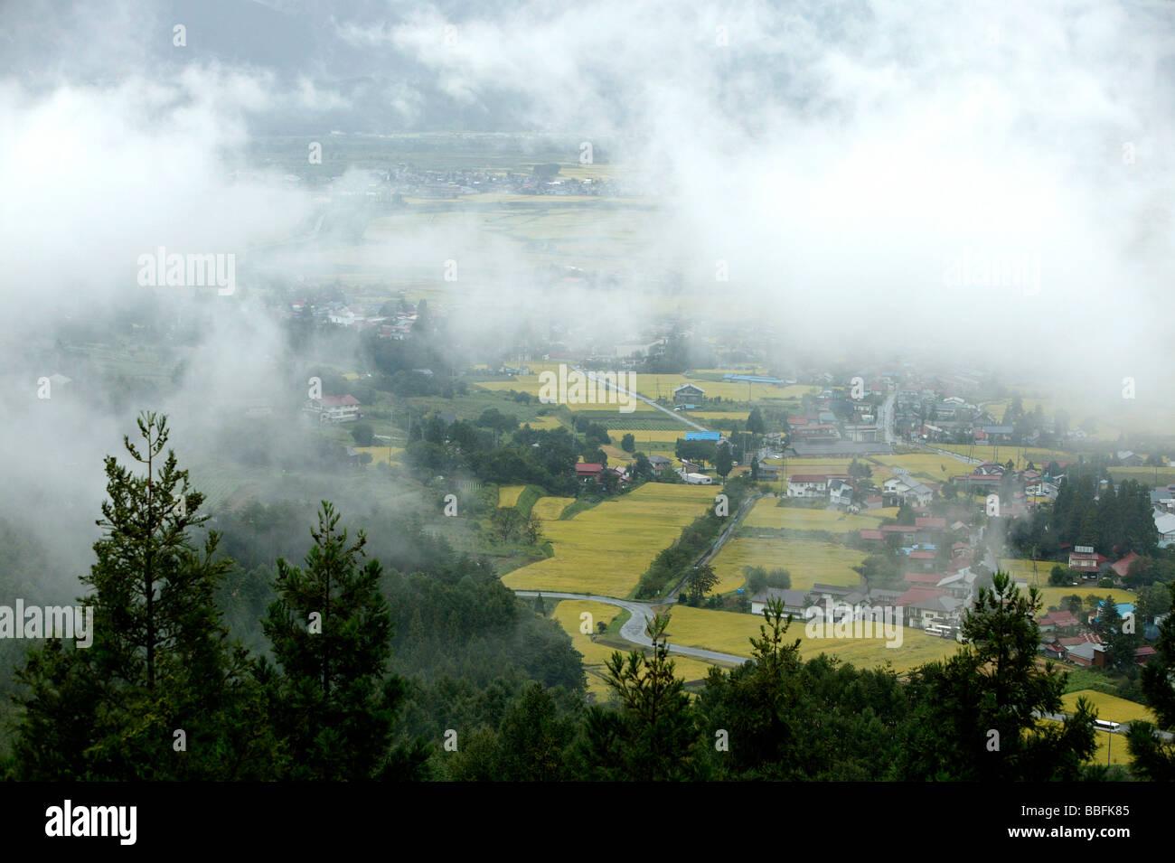 Vista aerea di abitazione Immagini Stock