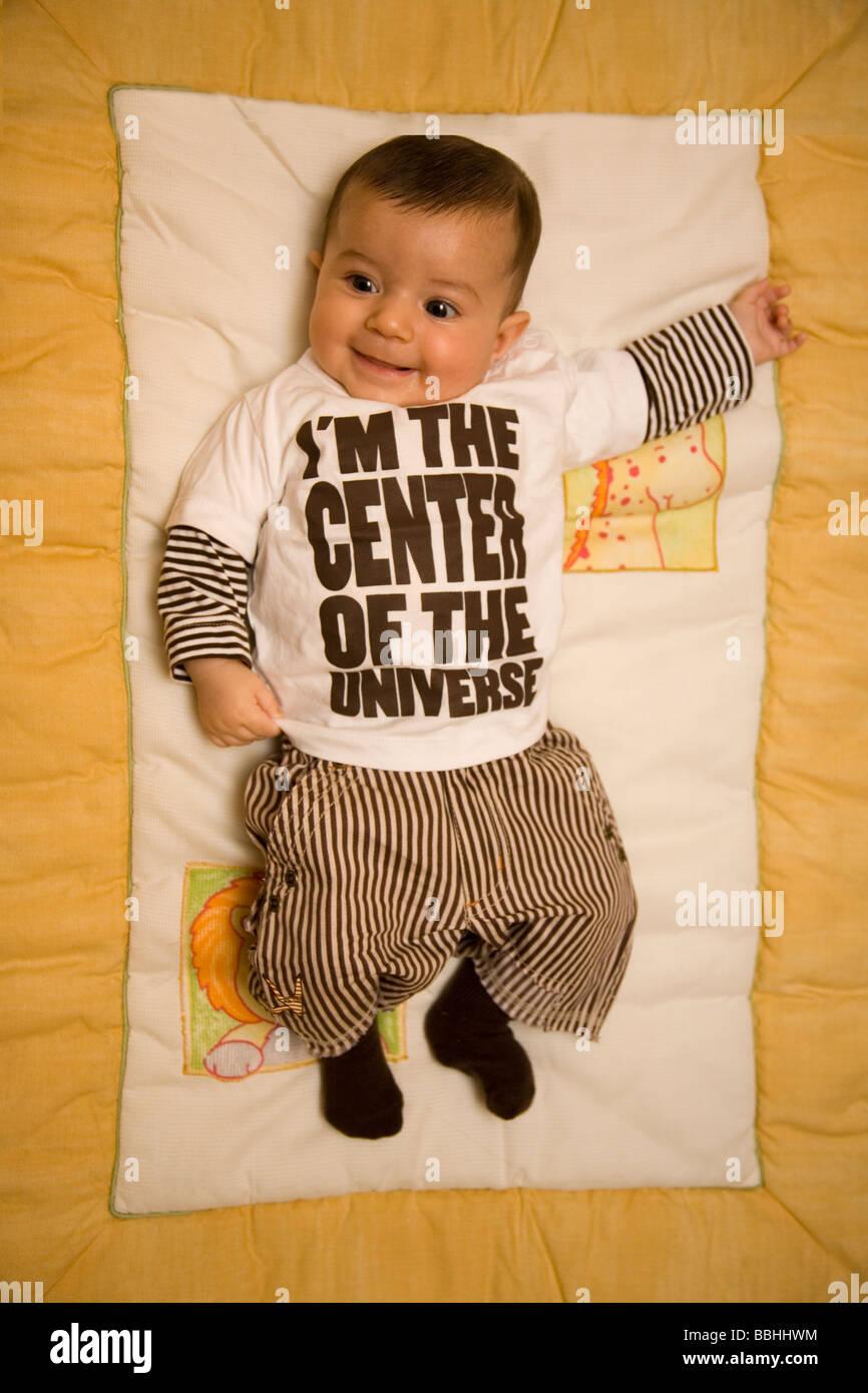 Little Baby giocando Immagini Stock