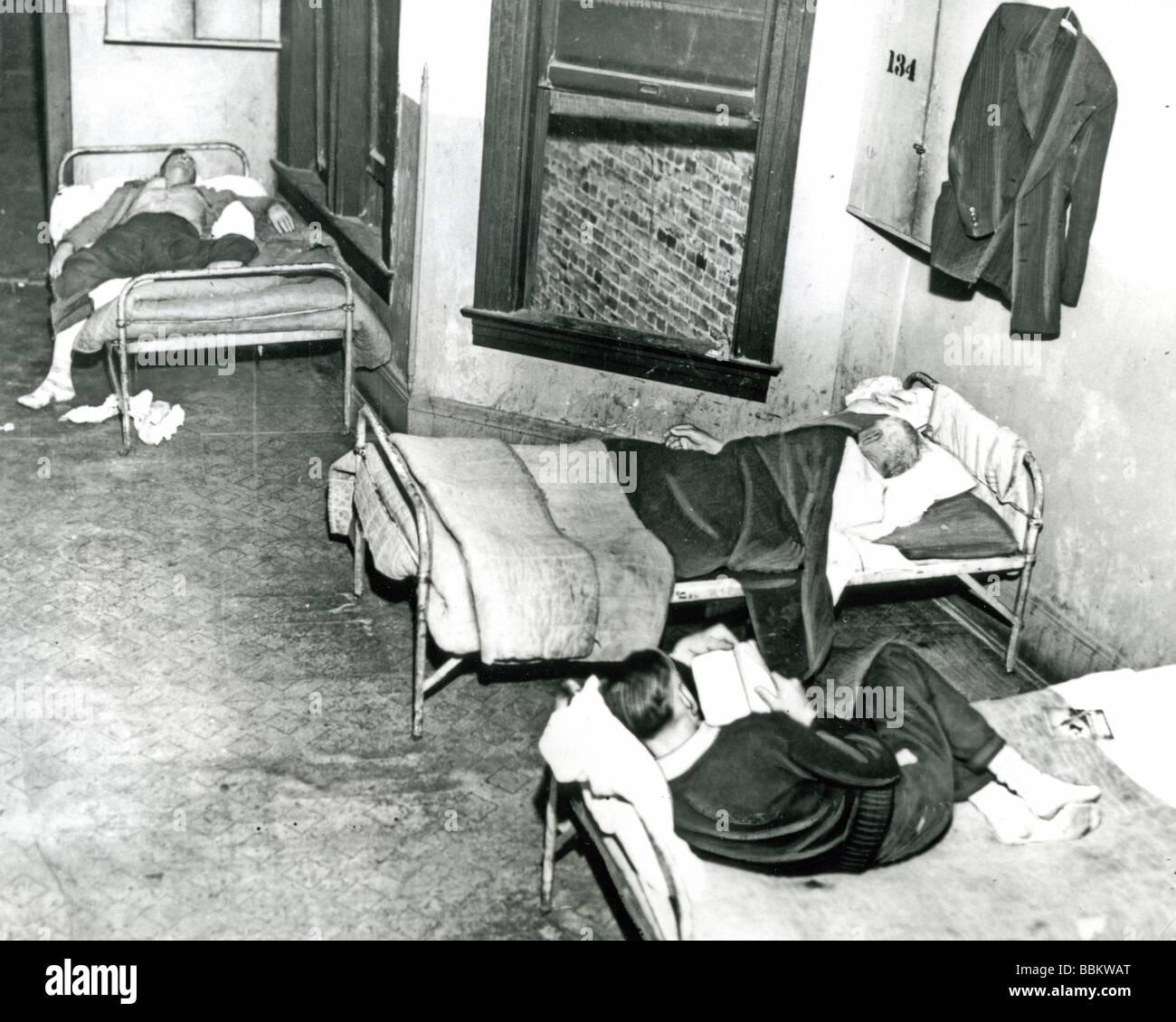 CHICAGO topaia durante la Grande Depressione degli anni trenta Immagini Stock