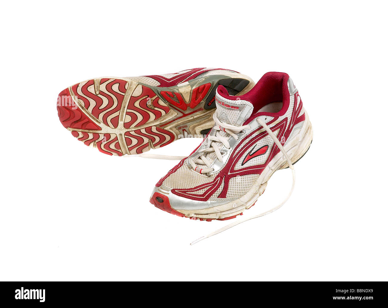scarpe Esecuzione ginnastica di Immagini Stock vecchie da pzExUT