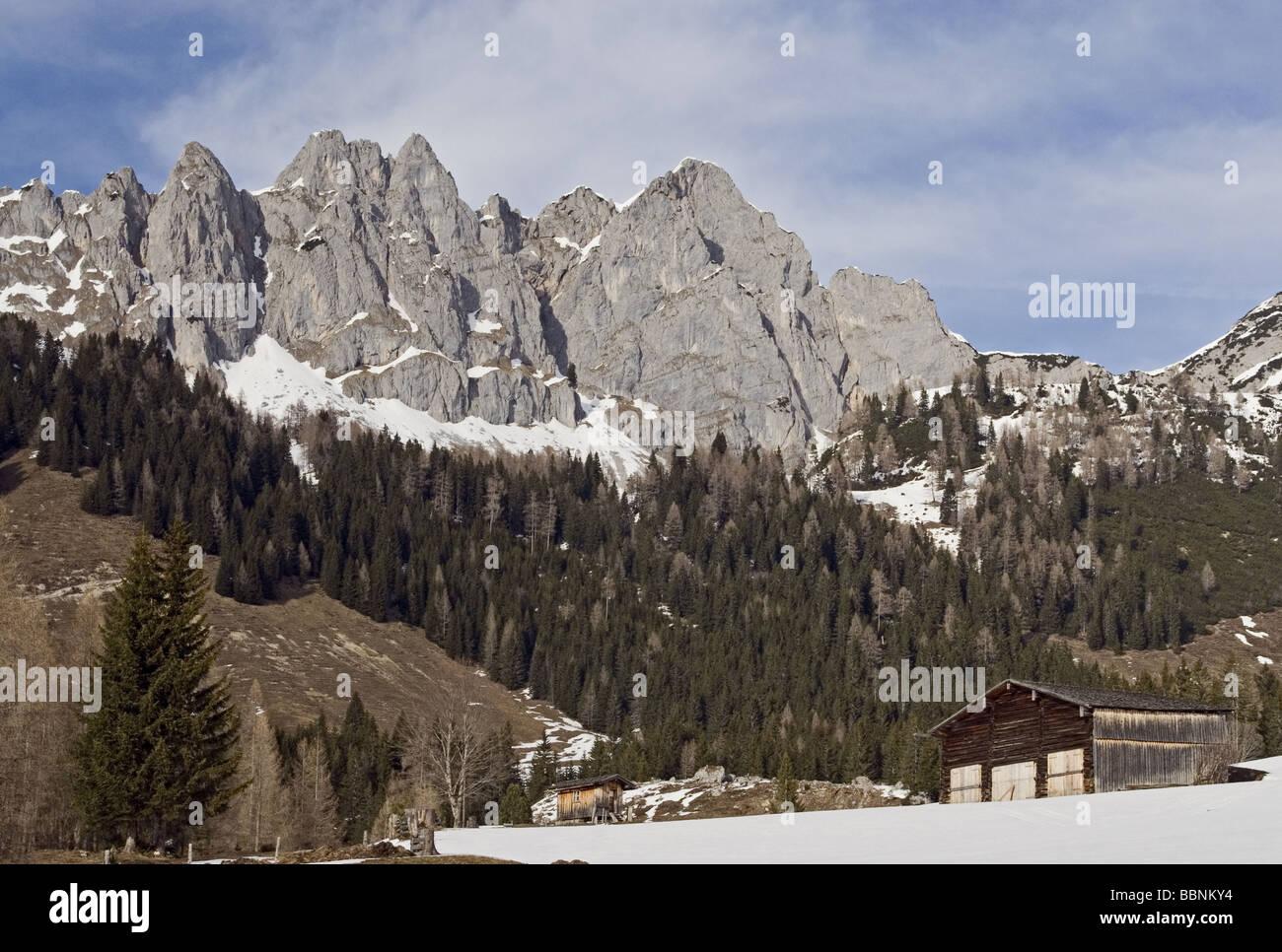 Geografia / viaggi, Salisburgo, Austria Membro, paesaggi, Filzmoos, Additional-Rights-Clearance-Info-Not-Available Immagini Stock