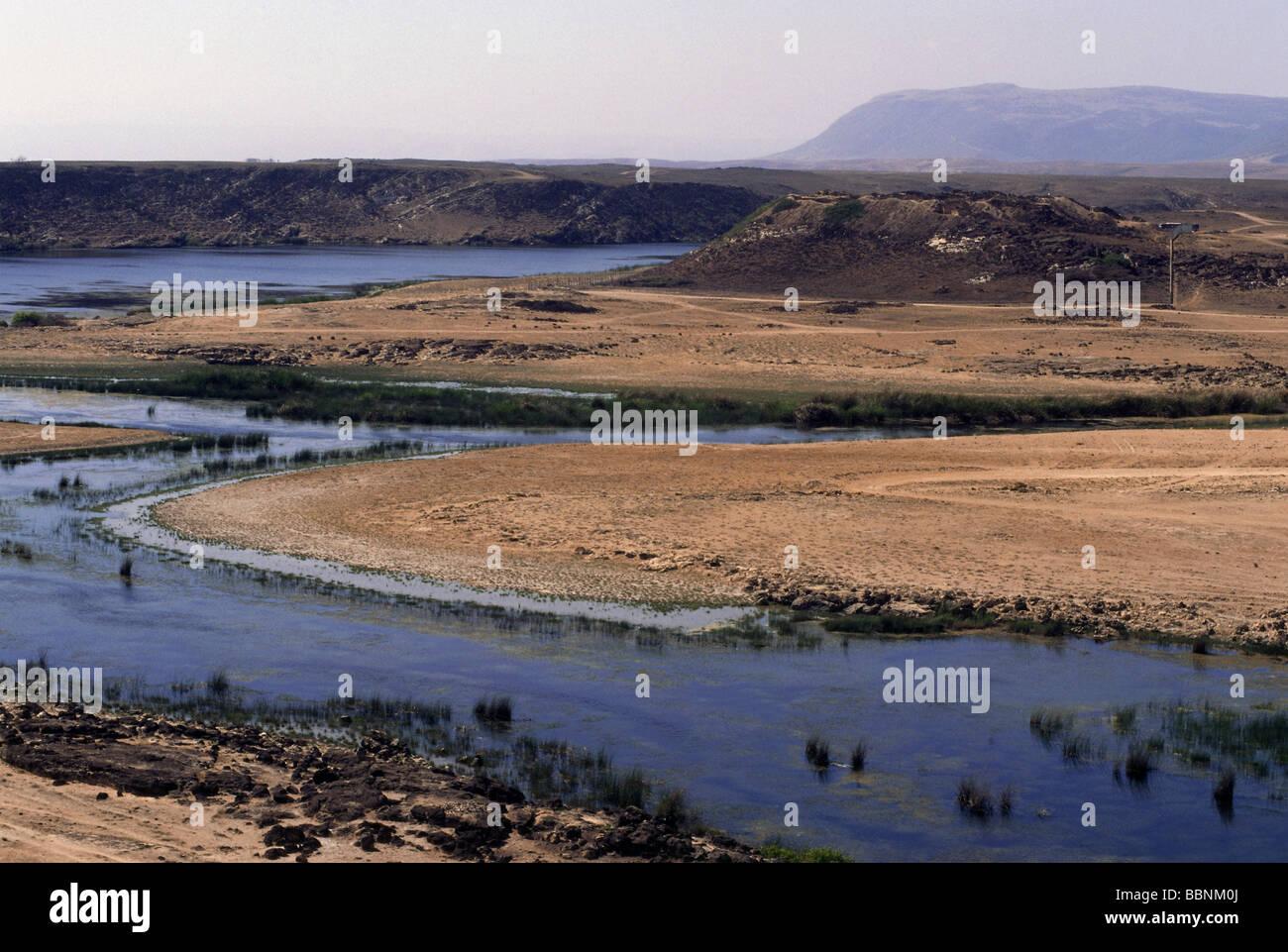 Geografia / viaggi, Oman, paesaggi, costa vicino a Khor Rouri, vicino Samhuran, Additional-Rights-Clearance-Info Immagini Stock