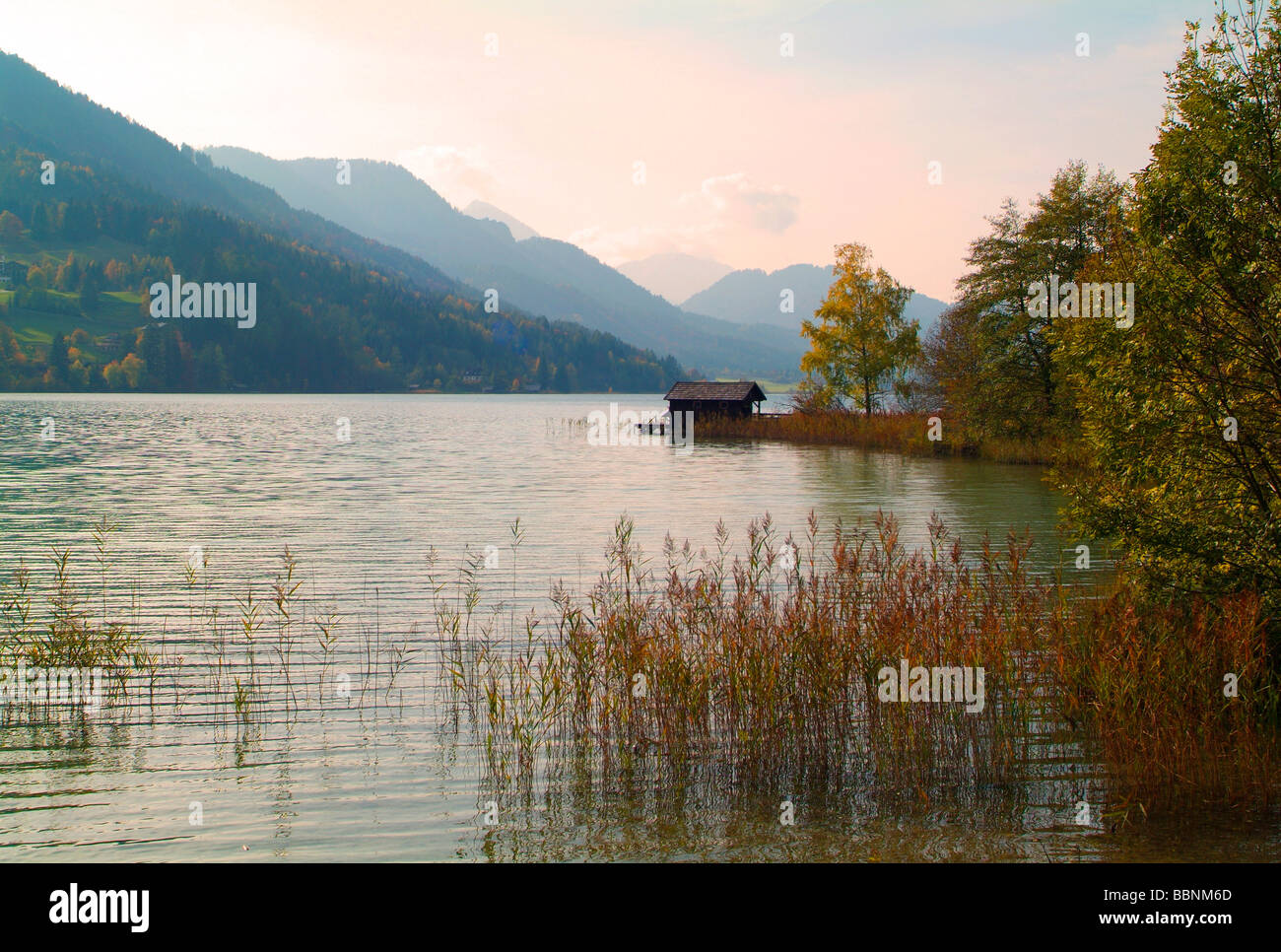 Geografia / viaggi, Austria, Carinzia, Weissensee, Additional-Rights-Clearance-Info-Not-Available Immagini Stock