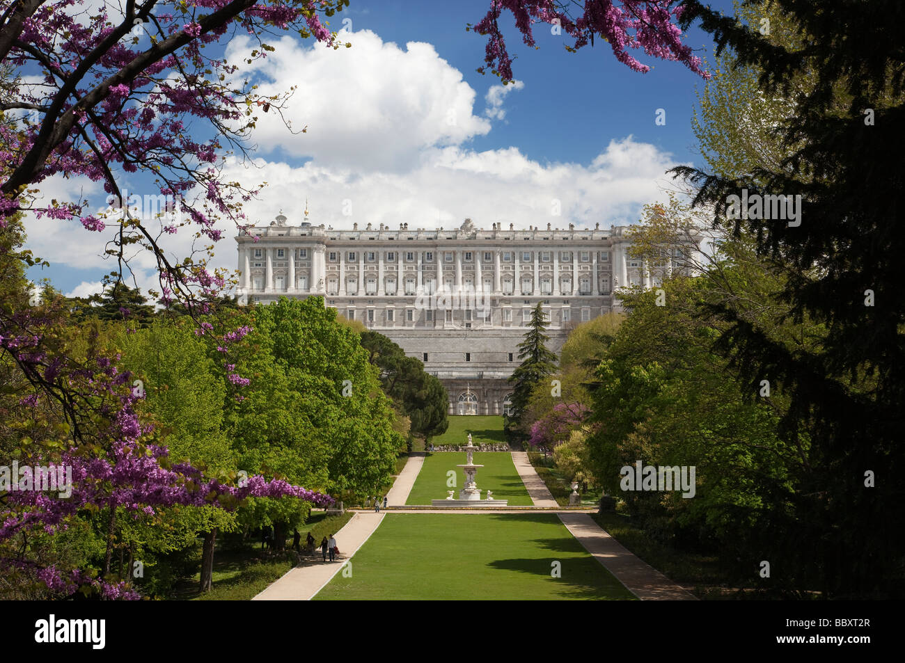 Royal Palace Madrid Spagna Immagini Stock