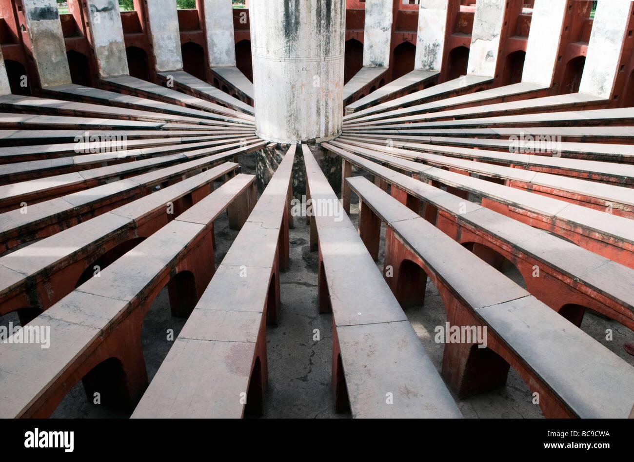 Jantar Mantar Observatory New Delhi India Immagini Stock