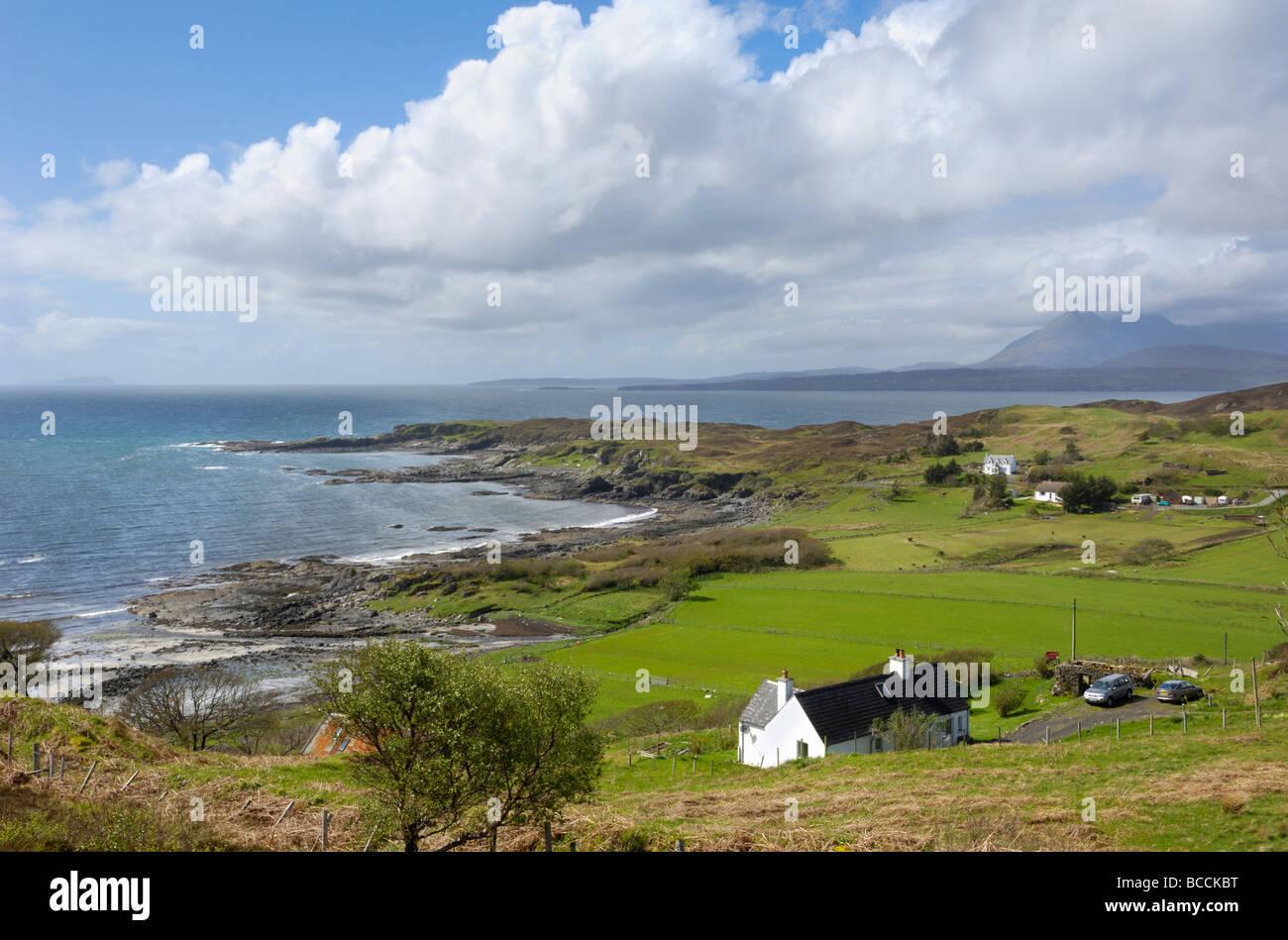 Tarskavaig, il Sleat, Isola di Skye in Scozia Foto Stock