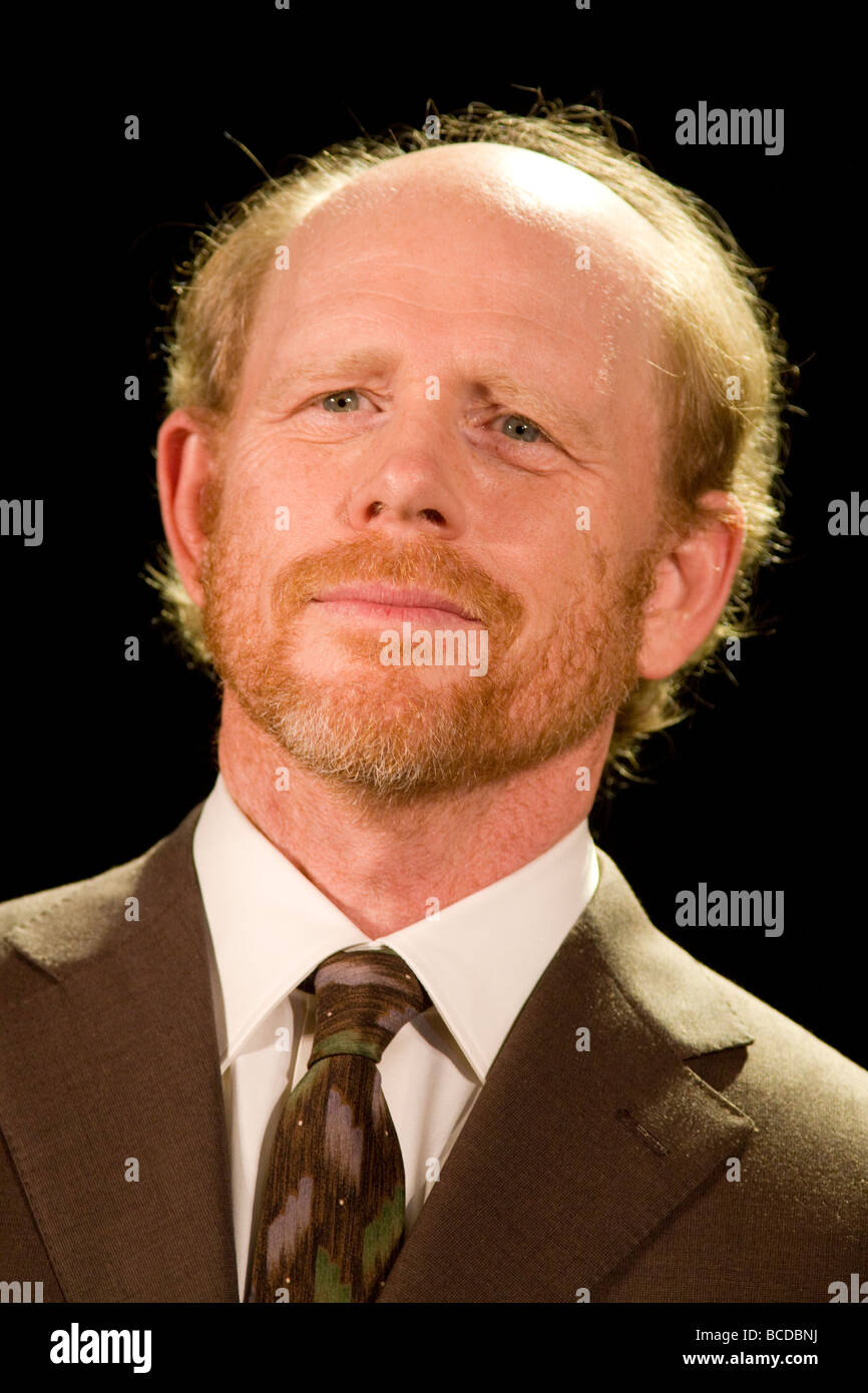 American film il regista Ron Howard Foto stock - Alamy