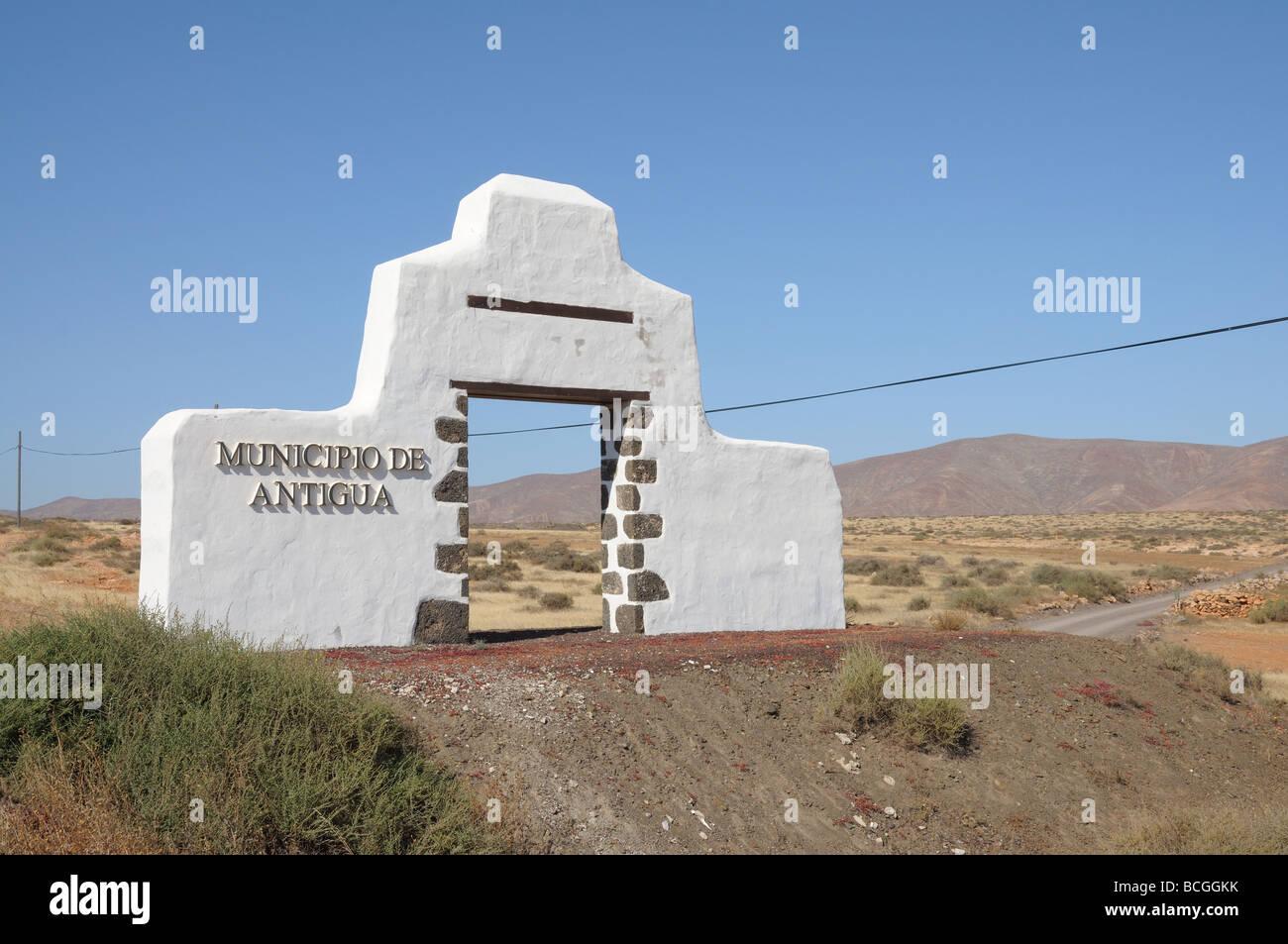 Municipio de Antigua, Isola Canarie Fuerteventura, Spagna Foto Stock