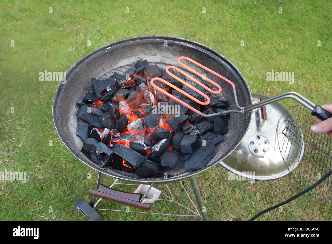Ambiente elettrico friendly ecofriendly barbecue avviamento