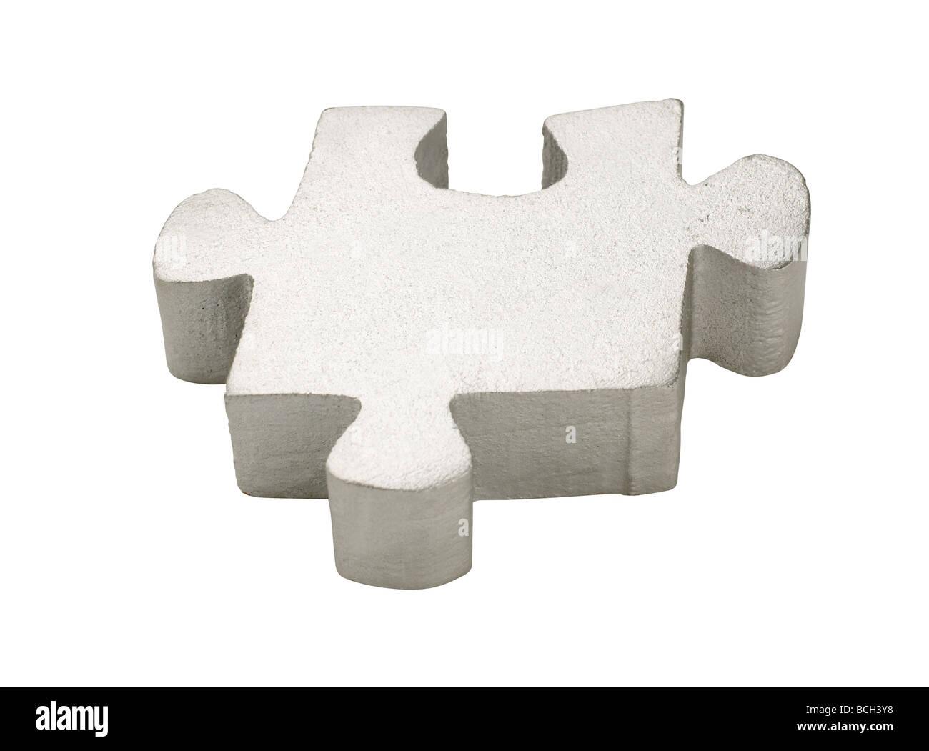 pezzo di puzzle Immagini Stock