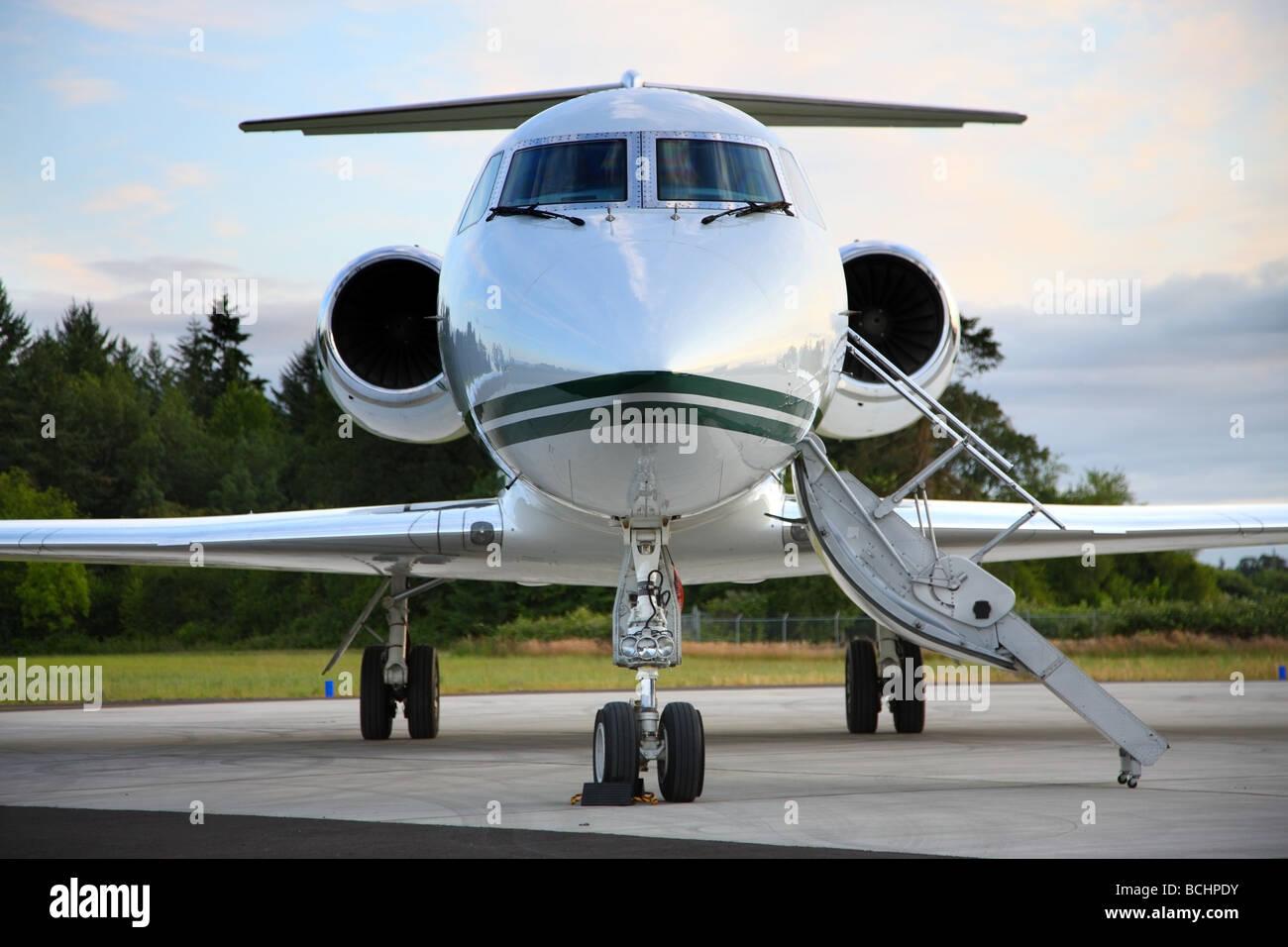Jet privato Immagini Stock
