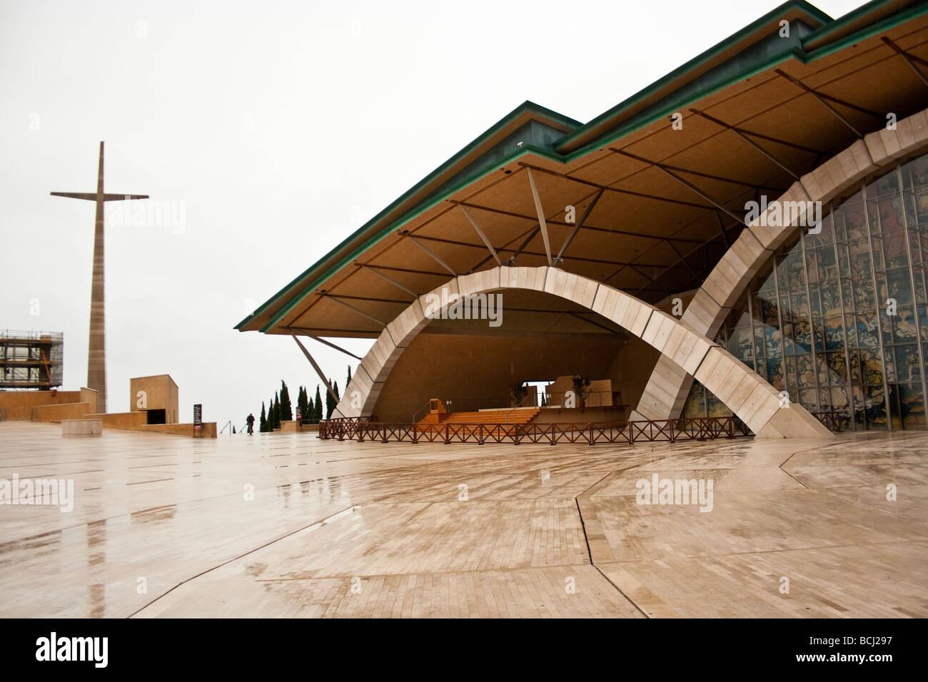 Santuario di Padre Pio. San Giovanni Rotondo, Italia Immagini Stock