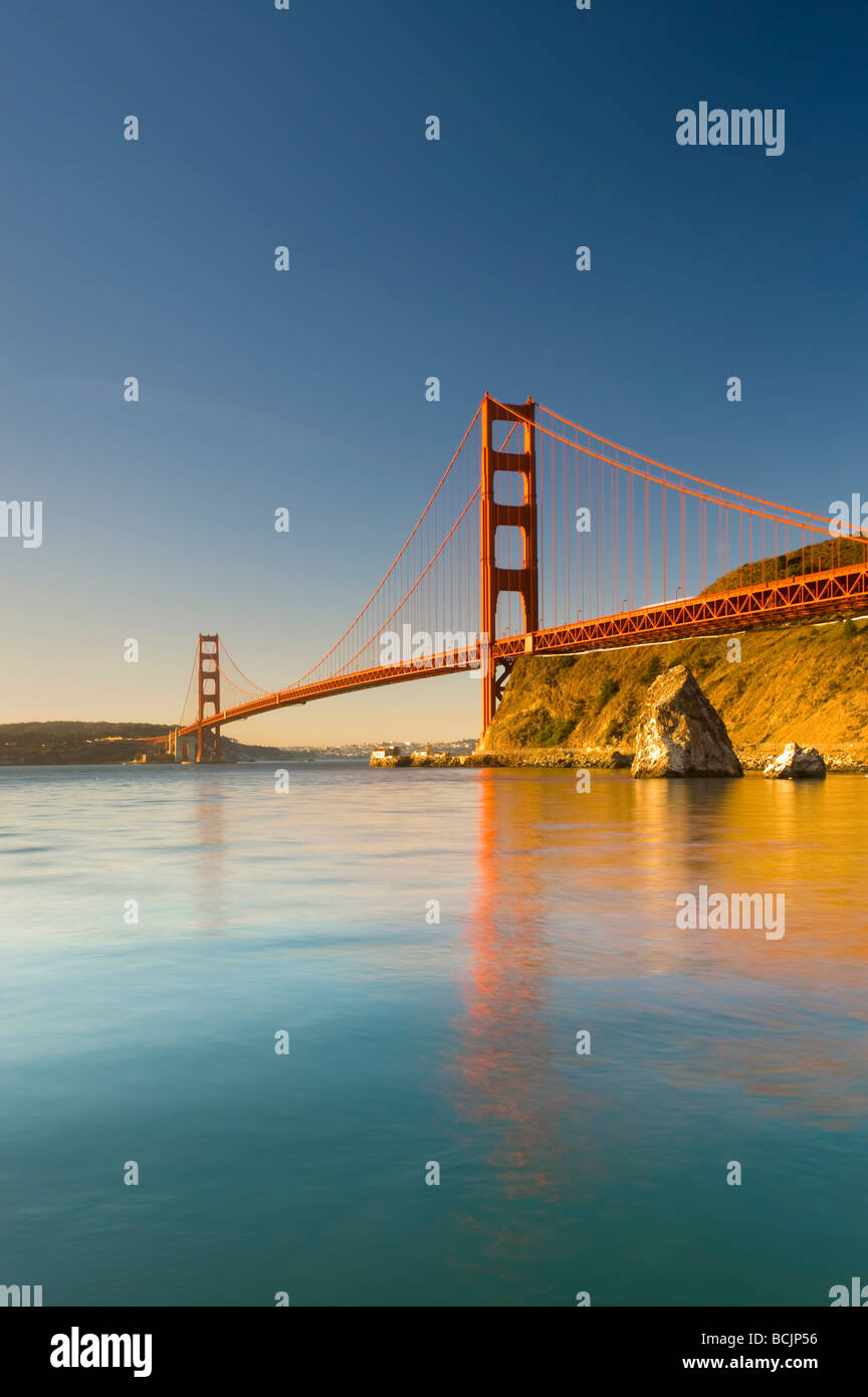 Stati Uniti, California, San Francisco Golden Gate Bridge Immagini Stock