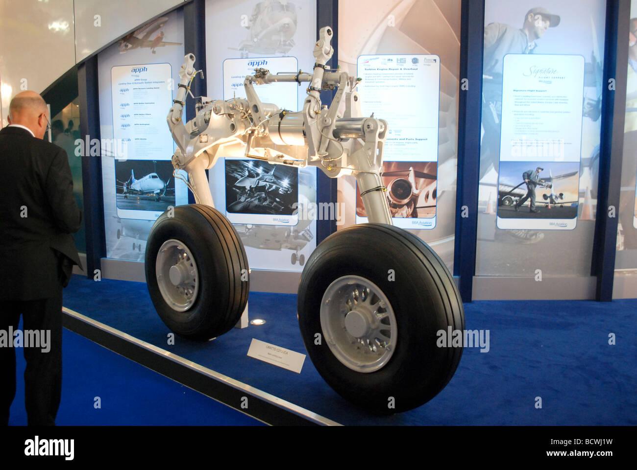 LMATTS C27J JCA Main Landing Gear progettato e fabbricato da APPH LTD Foto Stock