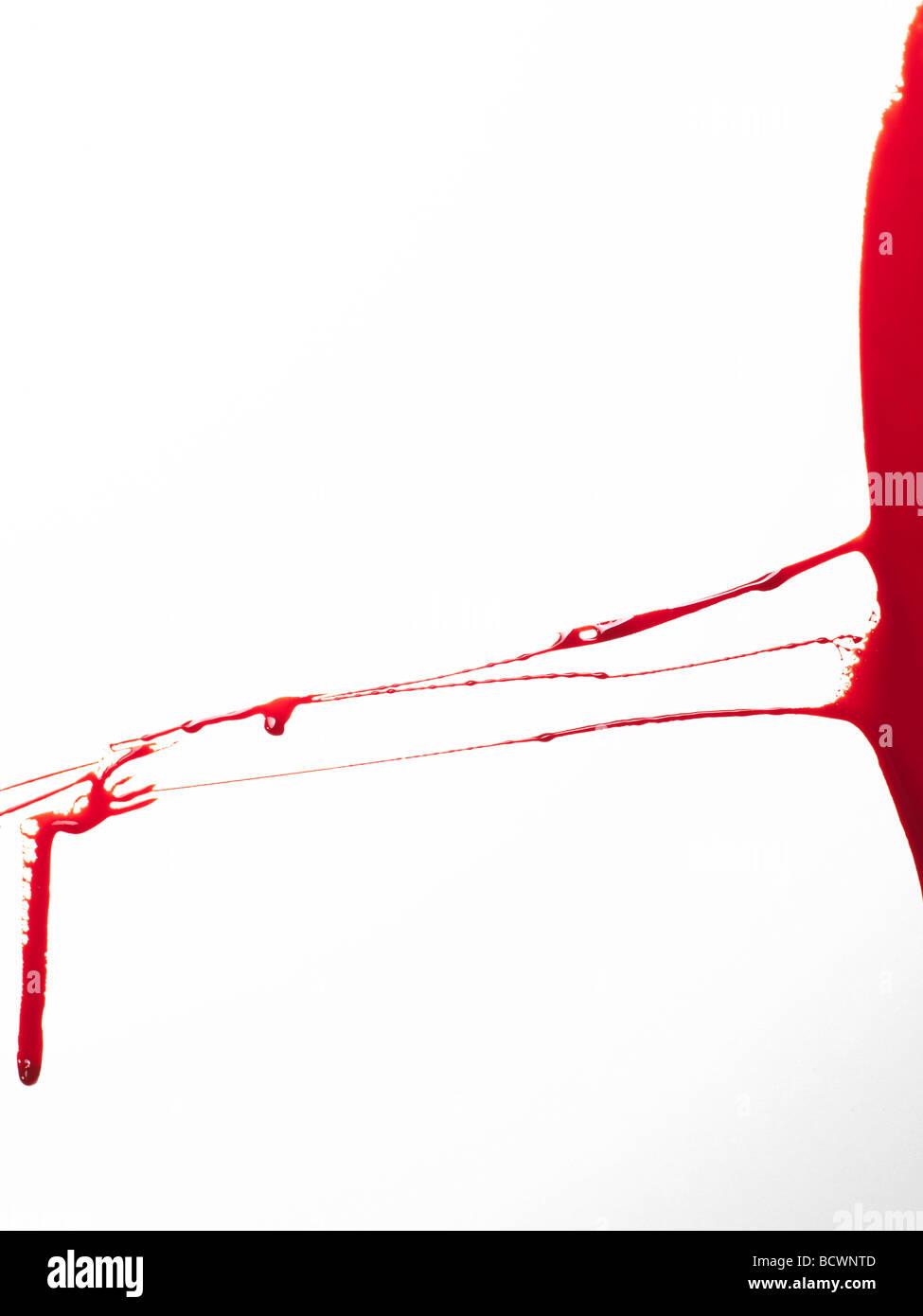 sangue 6 Immagini Stock