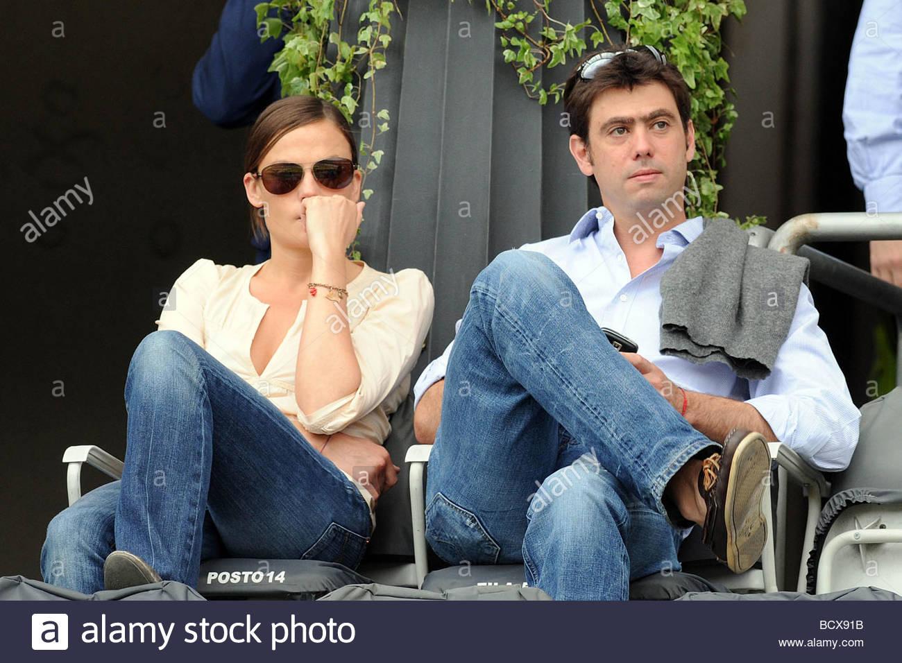 Andrea agnelli e la moglie, Torino 2009, serie a campioni ...
