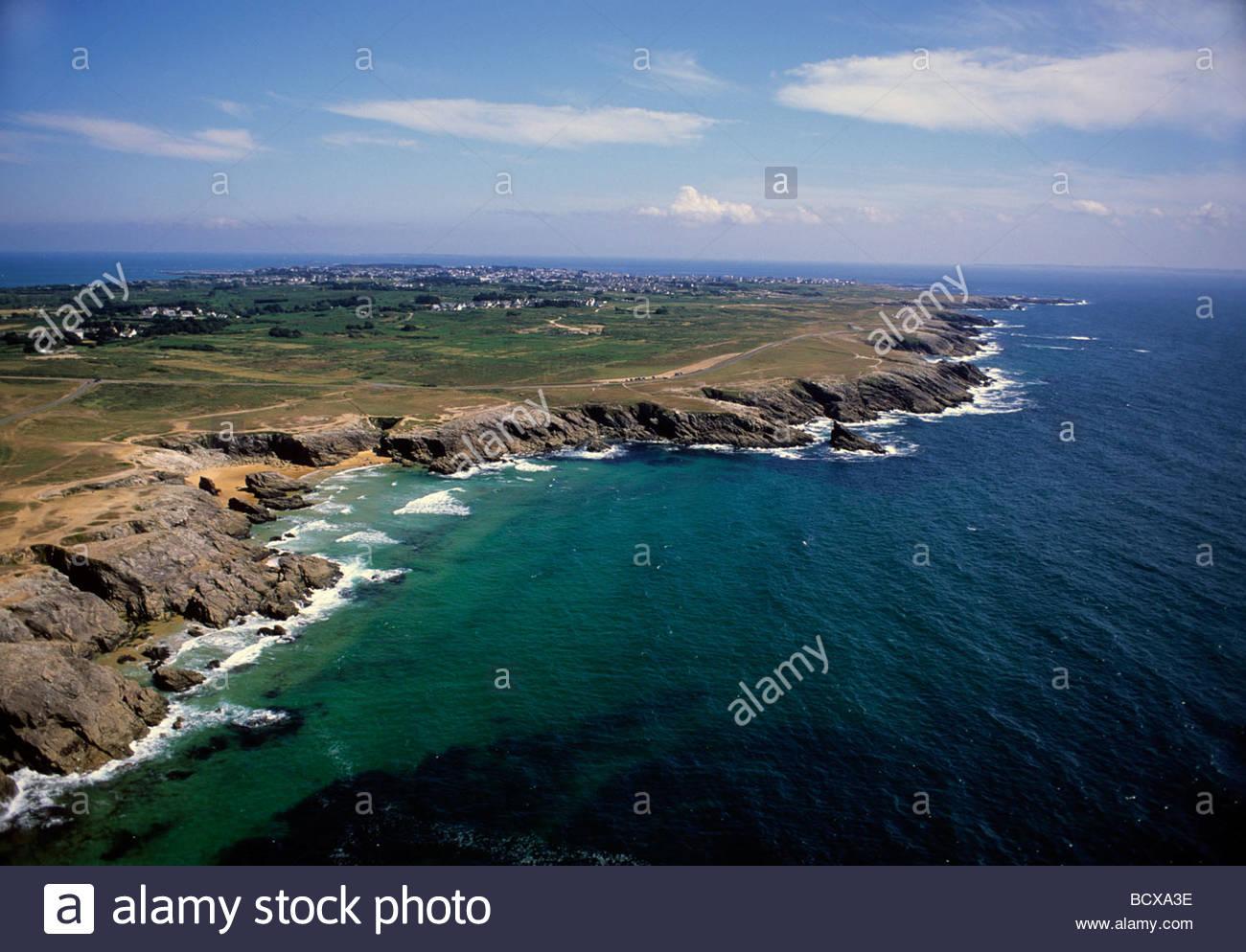 Quiberon, Cote Sauvage, Brittany, Francia, Europa Immagini Stock