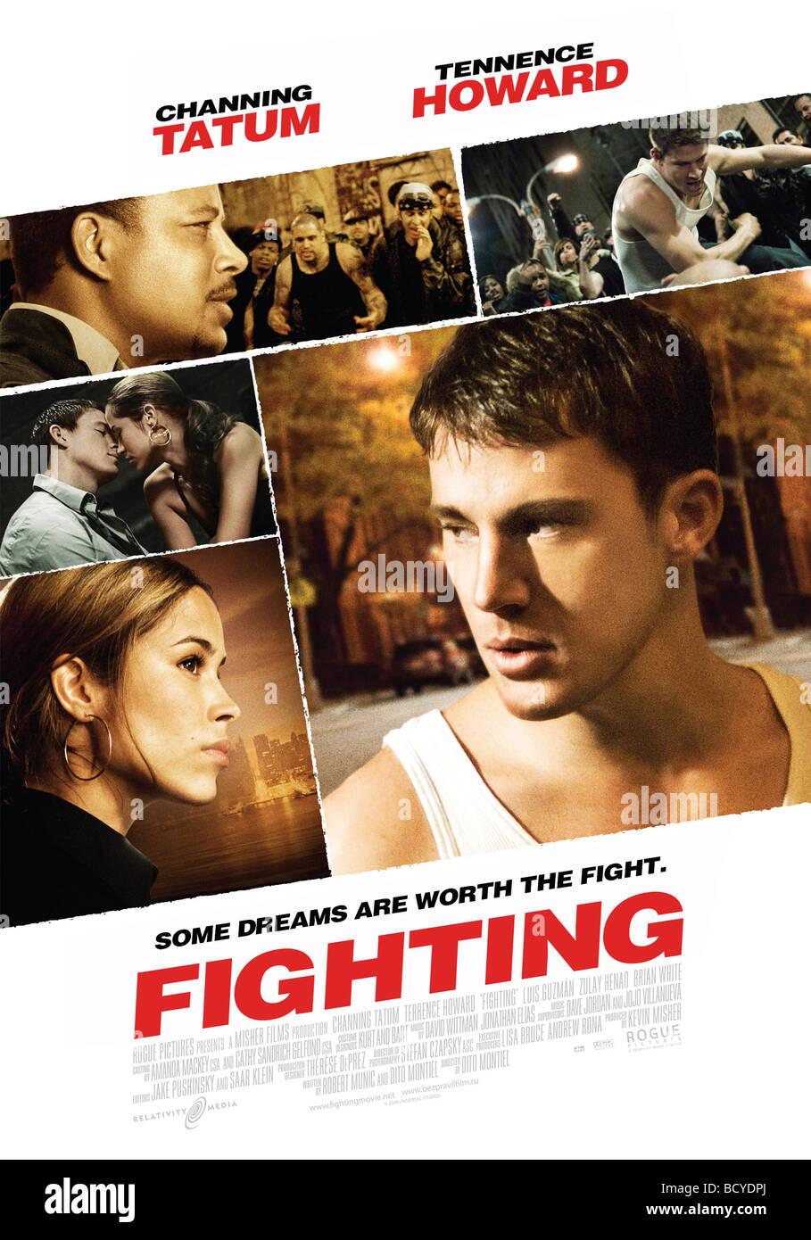 Combattimenti Anno : 2009 Direttore : Dito Montiel Zulay Henao, Channing Tatum poster (USA) Immagini Stock