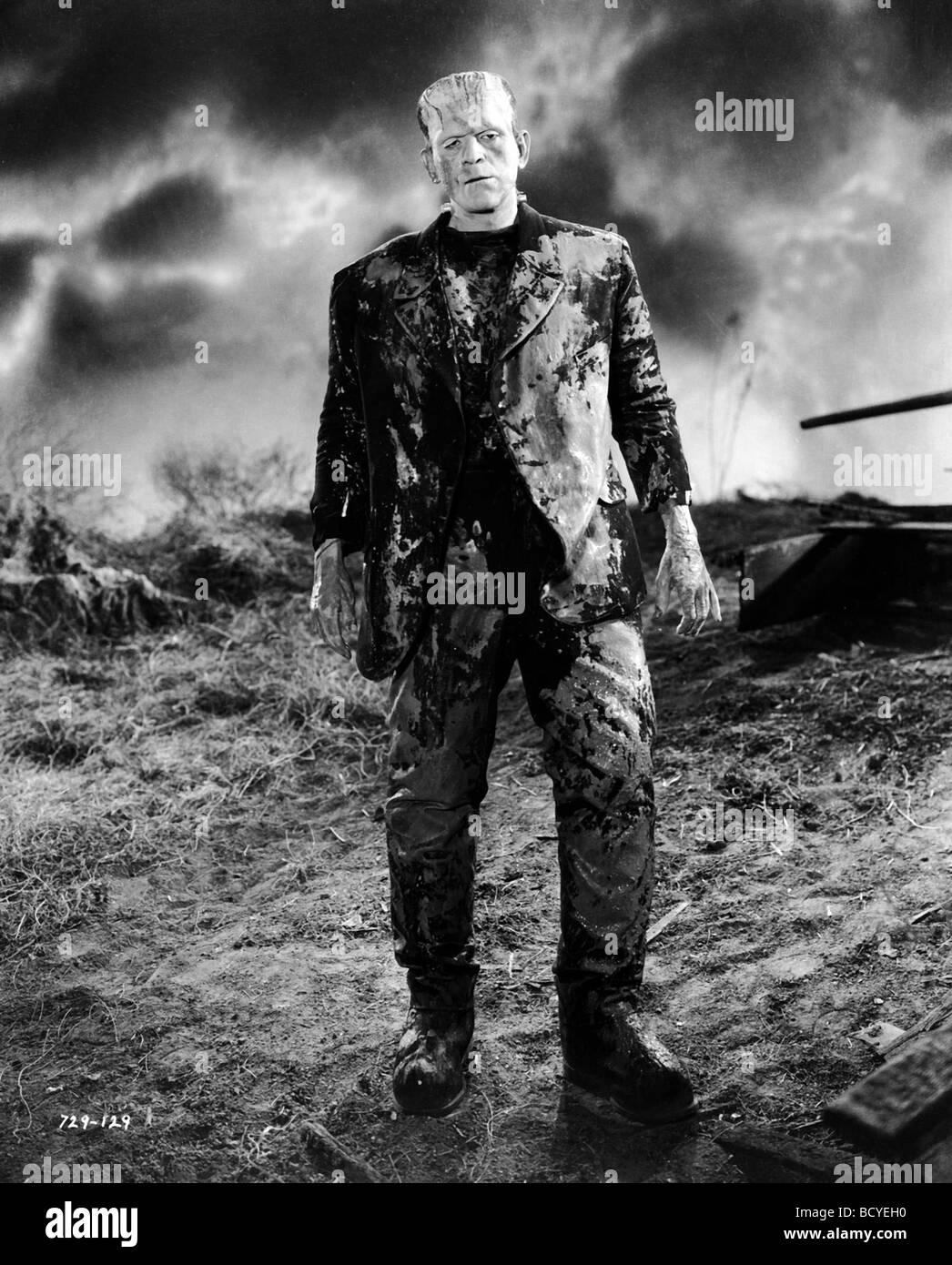 Frankenstein Anno : 1931 Direttore : James Whale Boris Karloff Immagini Stock