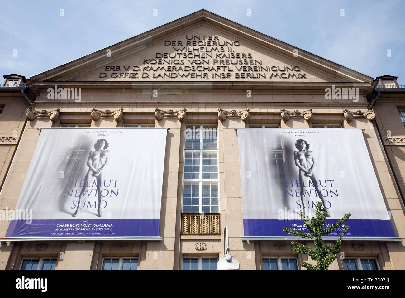 Helmut Newton Stiftung - Museo per la fotografia, Berlino, Germania Immagini Stock
