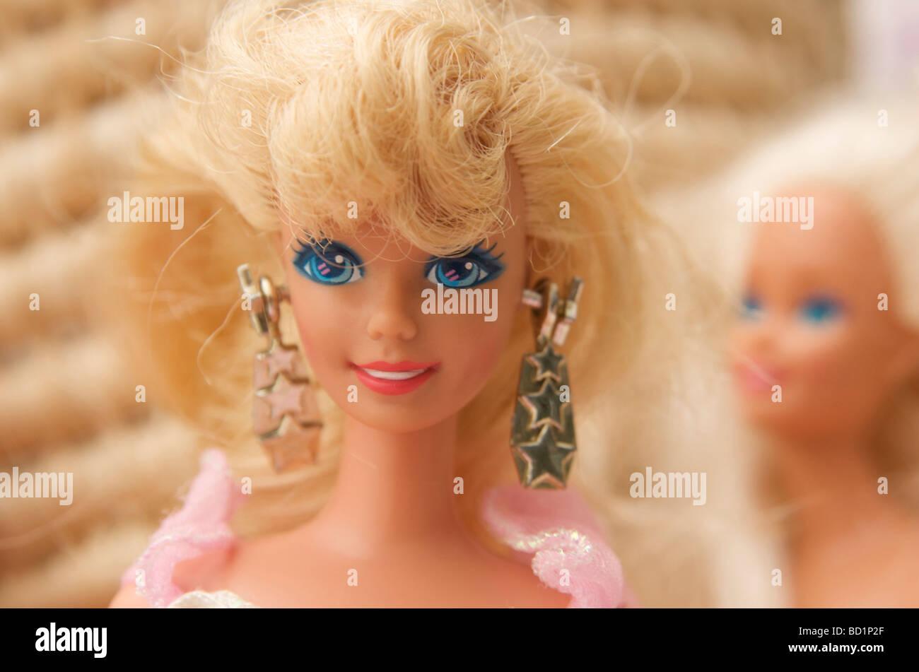 Bambola Barbie Immagini Stock
