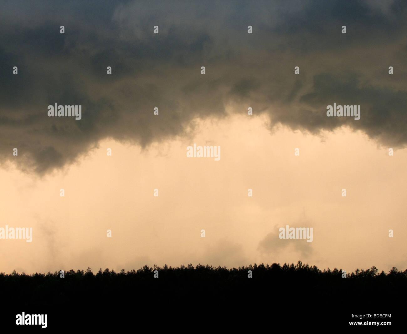 atmosferiche estreme Immagini Stock
