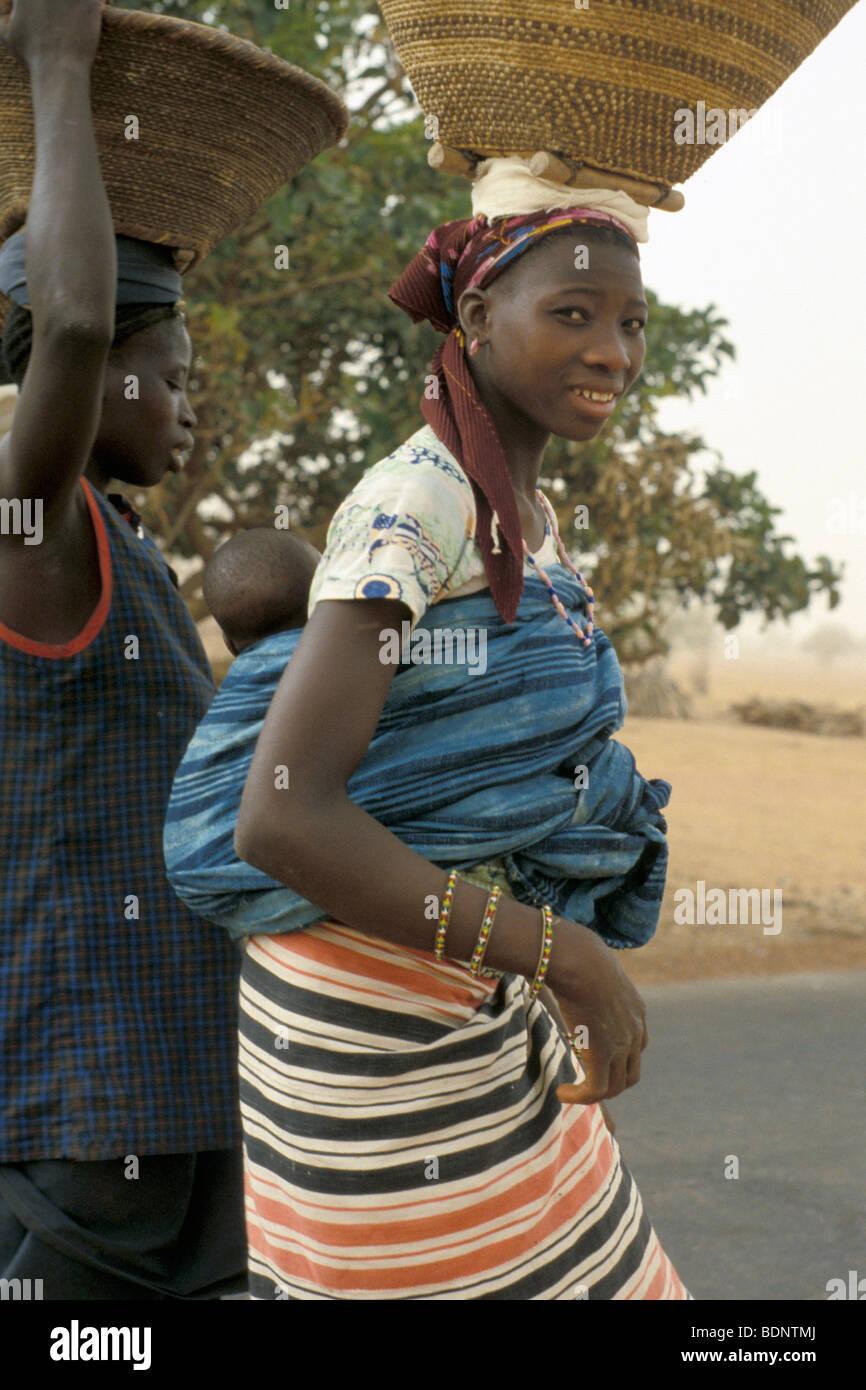 Mali, circostante di mopti Foto Stock
