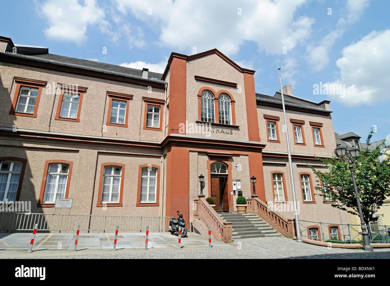 Historisches Archiv archivio storico, ex municipio, il centro storico, Wetzlar, Hesse, Germania, Europa Immagini Stock