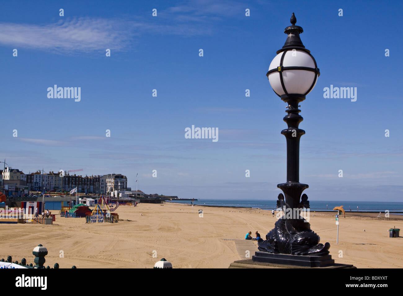 Margate Beach Kent Immagini Stock