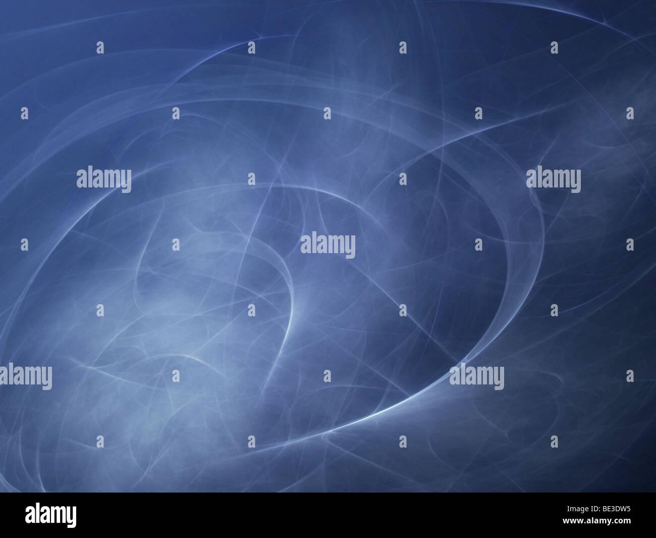 Illustrazione astratta di movimento. Immagini Stock