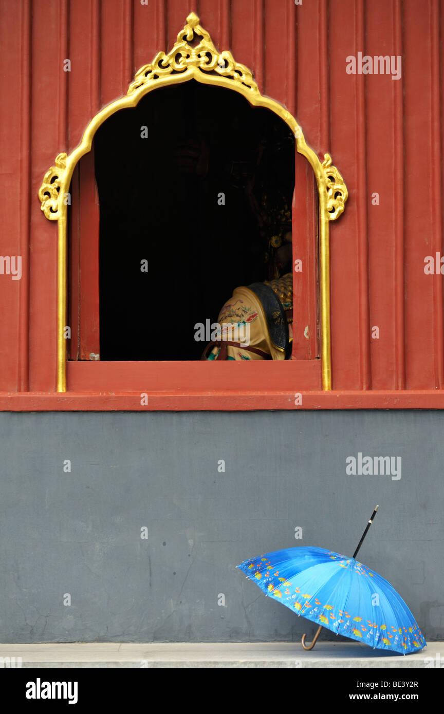 Una scena dal Tempio Lama Yong He Gong Beijing Immagini Stock