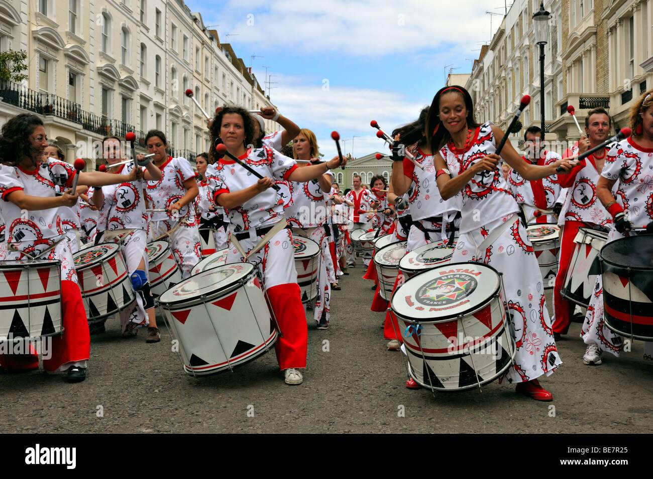 Carnevale di Notting Hill Immagini Stock
