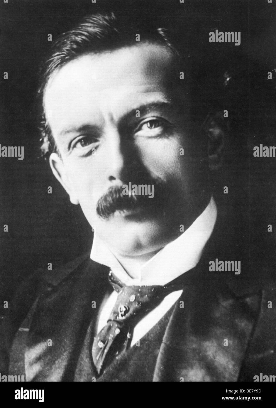 DAVID Lloyd George - gallese statista liberale (1863-1945) Immagini Stock