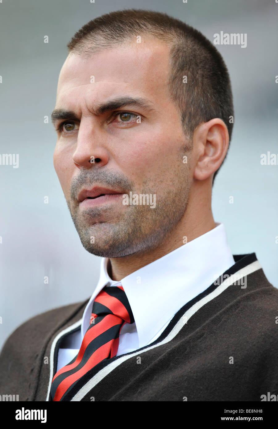 Pullman di Markus BABBEL, VfB Stuttgart, tesa Immagini Stock