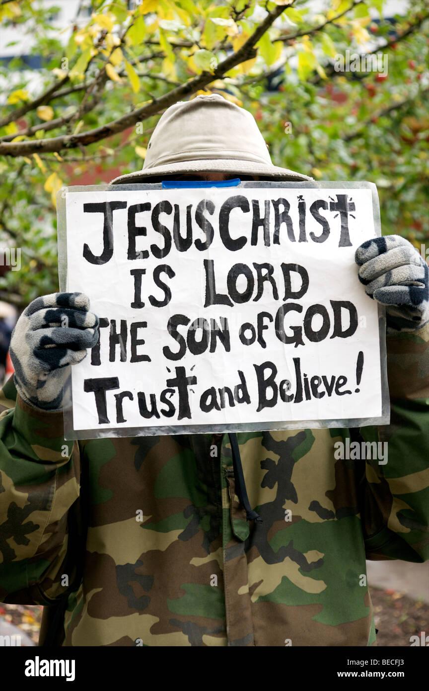 La fede religiosa Immagini Stock
