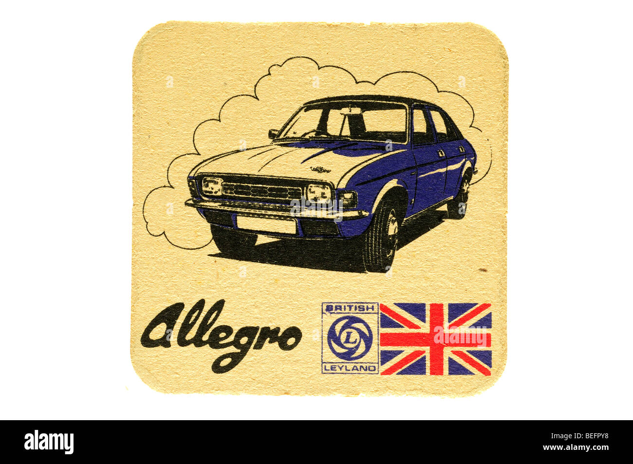 Allegro BRITISH LEYLAND Immagini Stock