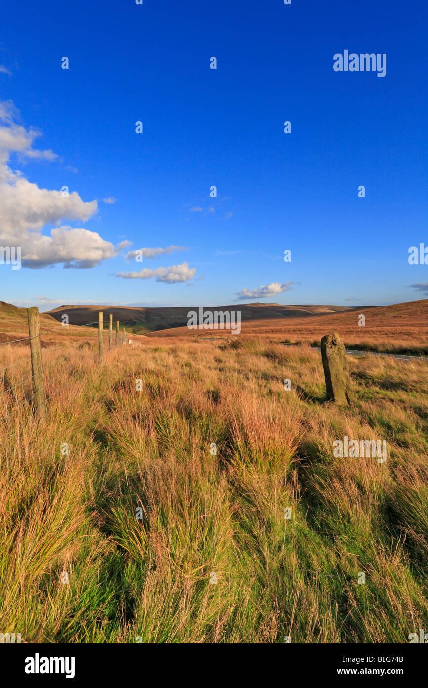 Montante di guida superiore Marsden Kirklees West Yorkshire England Regno Unito Immagini Stock
