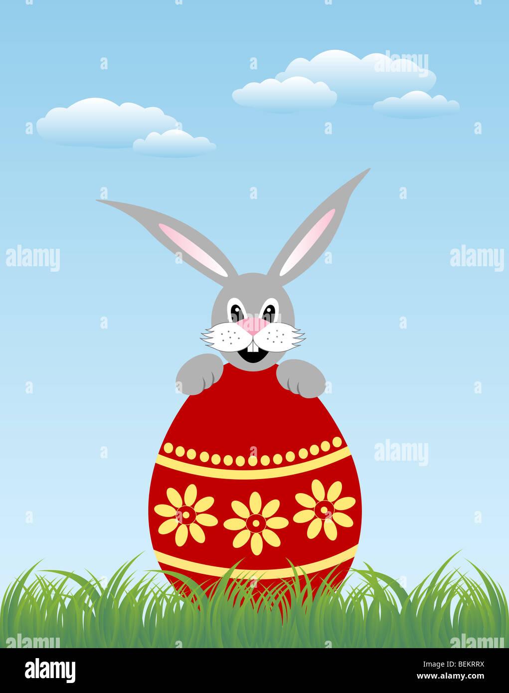 Coniglietto di Pasqua Immagini Stock