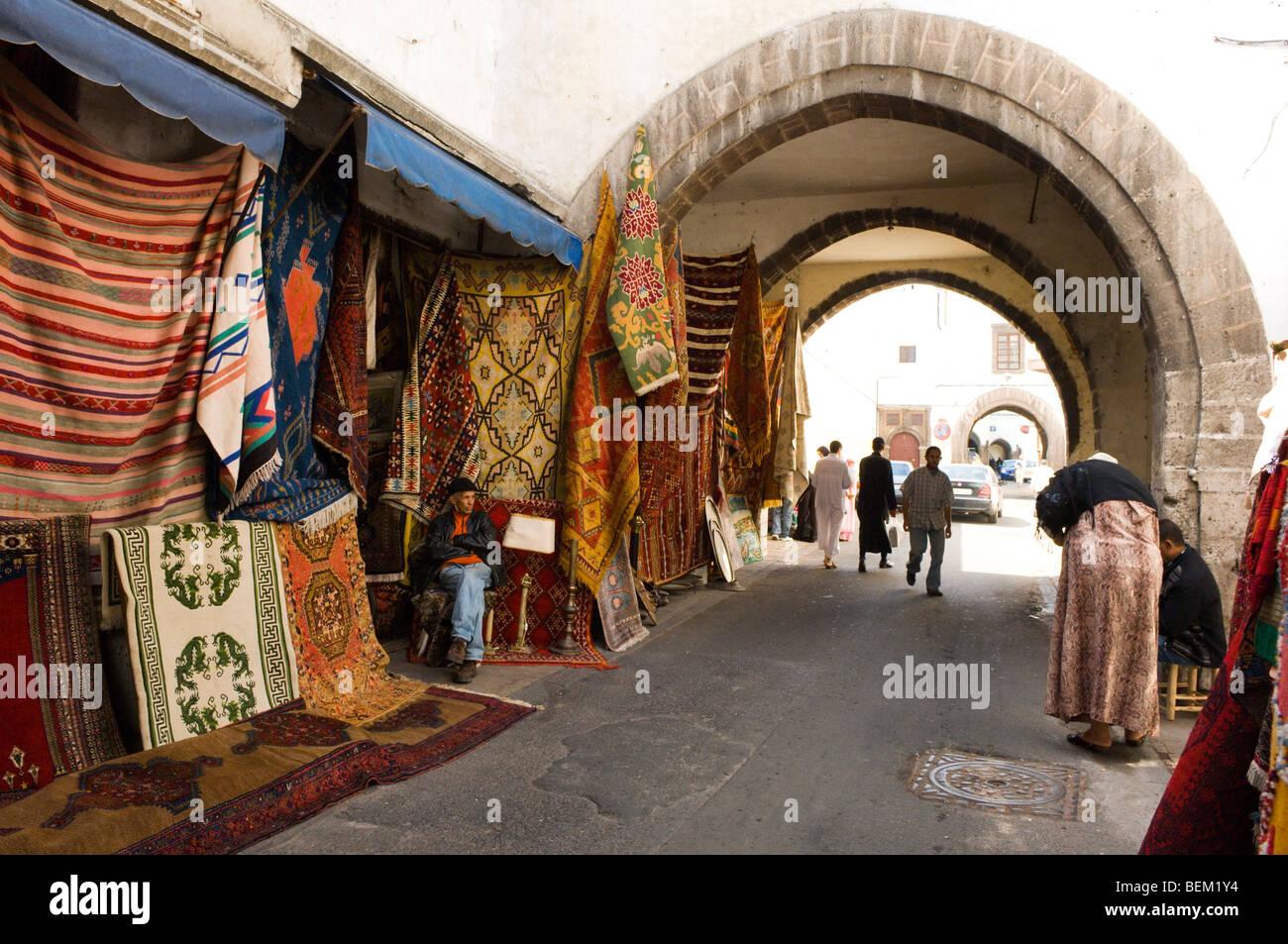 Quartier Habous, Casablanca, Marocco, Africa Immagini Stock