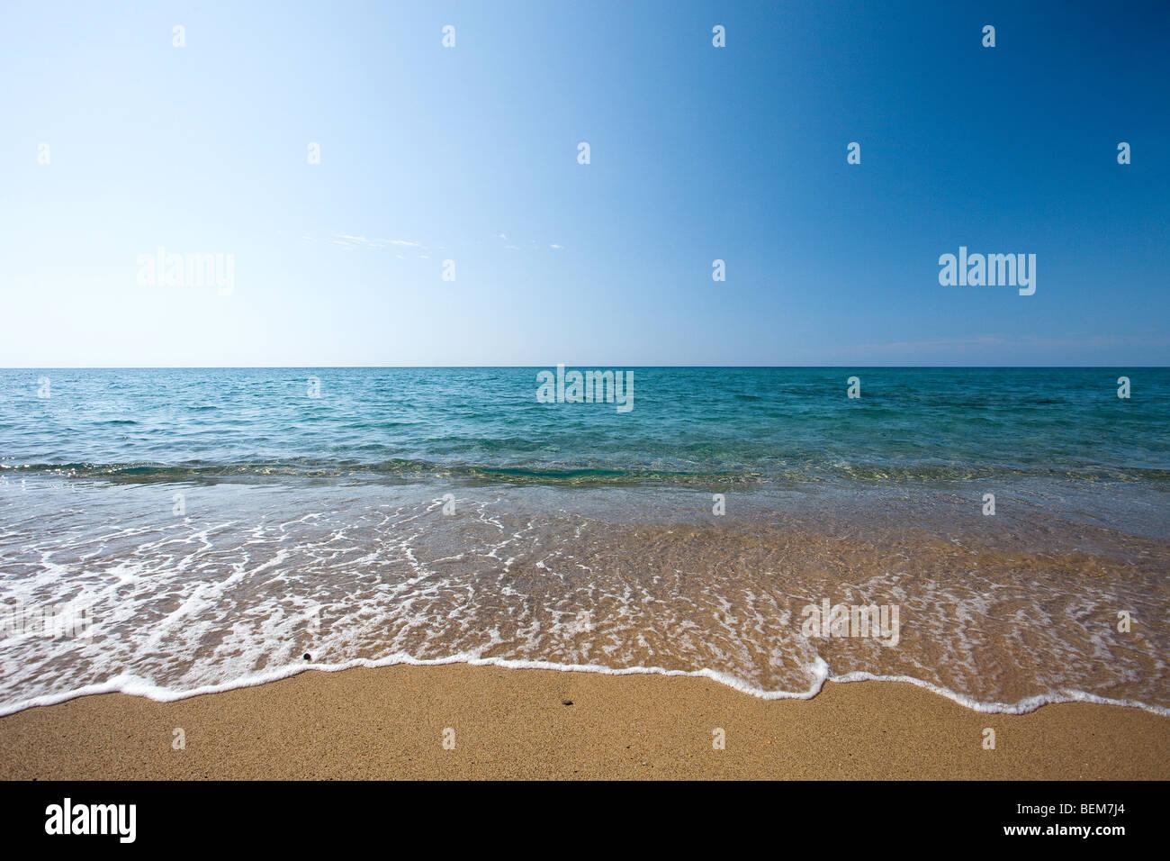 Spiaggia Di Piscinas E La Sua Sabbia Le Dune Vicino A Arbus Medio