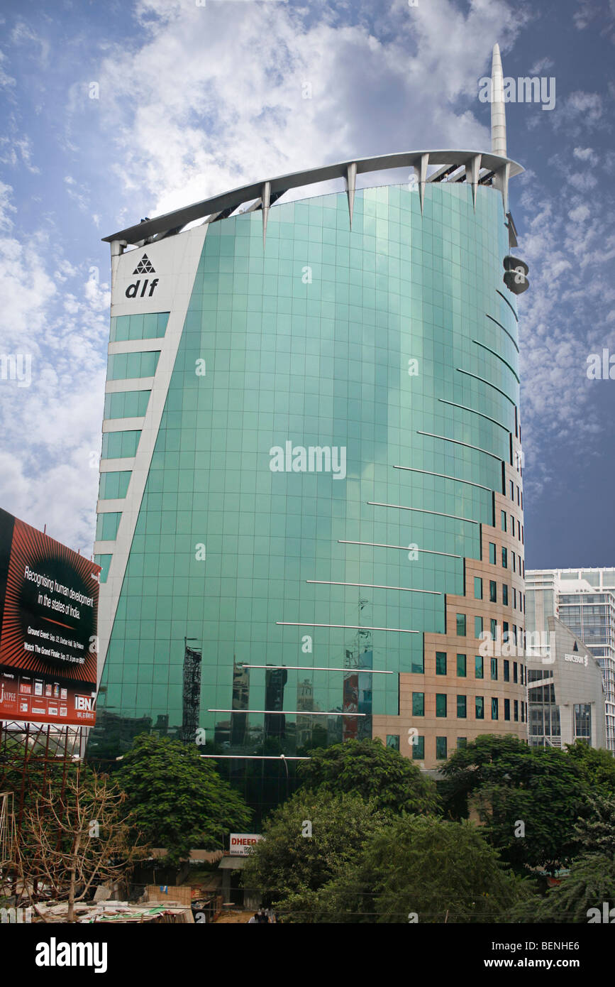 DLF appartamenti Gurgaon Haryana India Immagini Stock