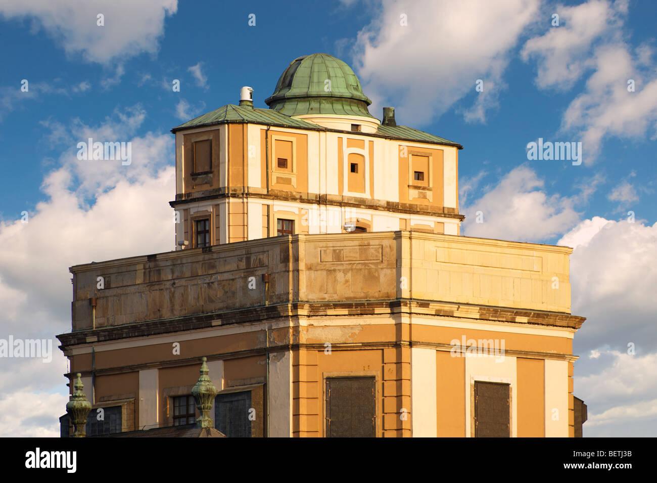 Osservatorio e fotocamera torre obsura sullaparte superiore dell'Lyseum Immagini Stock