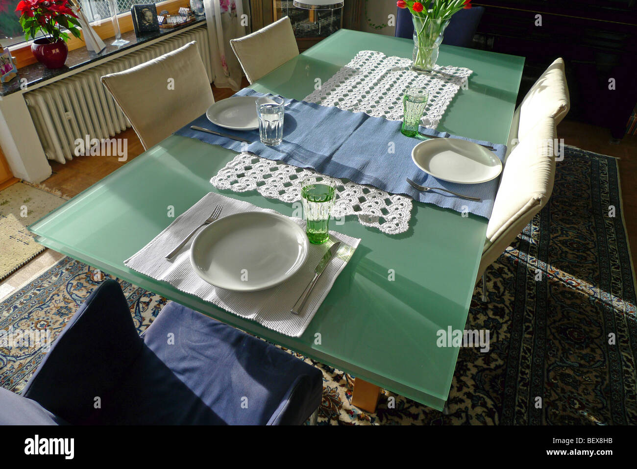 Decorazioni per la tavola. Immagini Stock