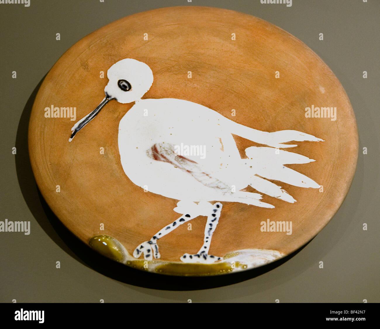 White Bird Paesi Bassi piastrelle Piastrelle di gres Immagini Stock