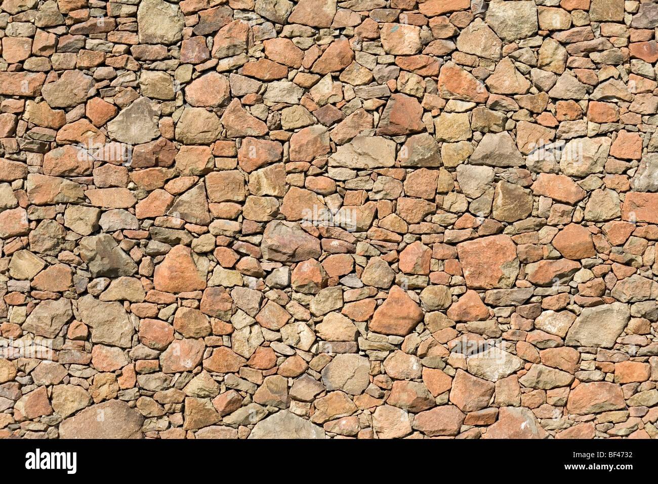 Giallo parete di roccia del modello per lo sfondo Immagini Stock