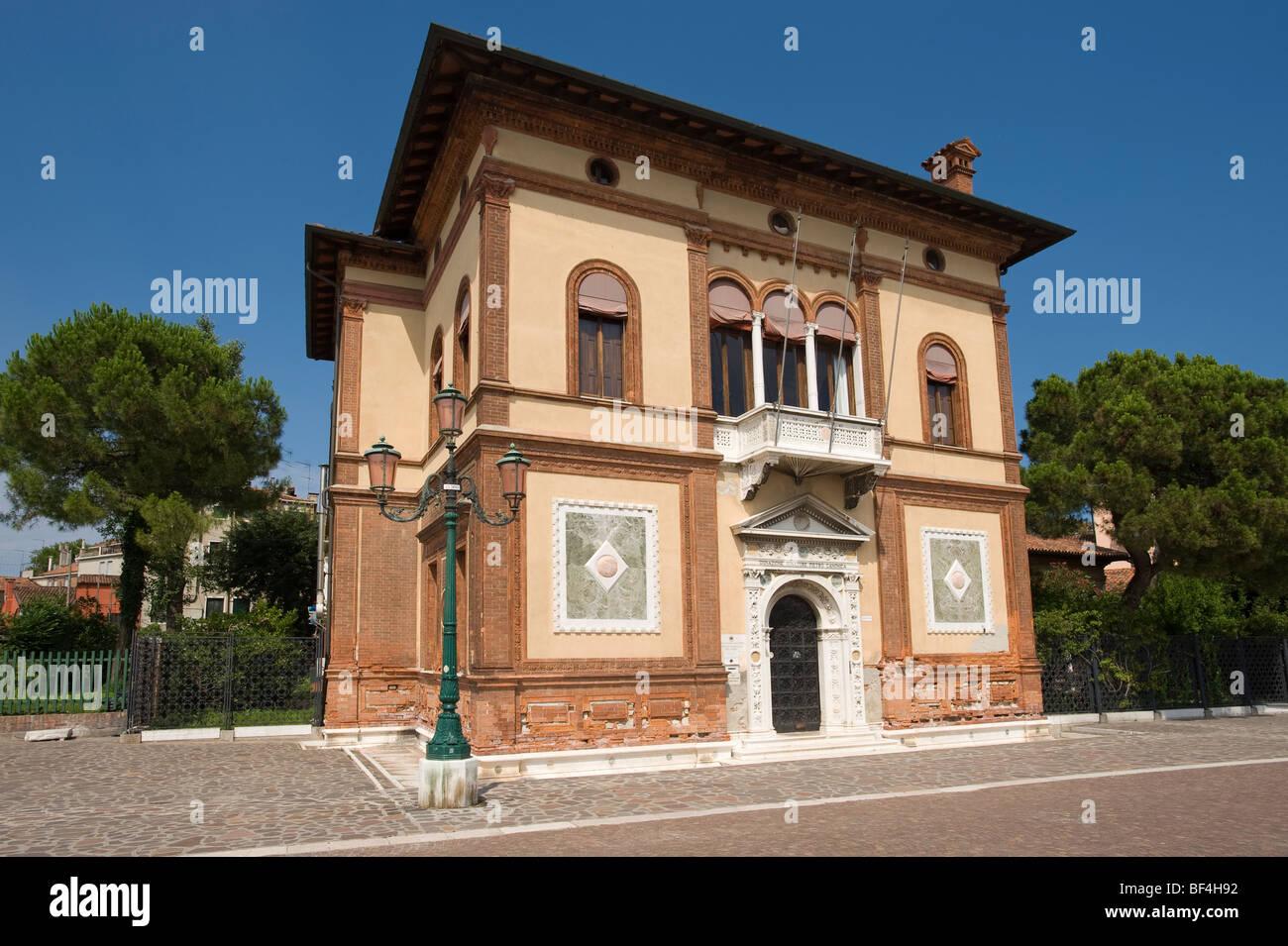 Istituto di Biologia del Mare, Riva dei Sette Martiri, Venezia, Veneto, Italia, Europa Foto Stock